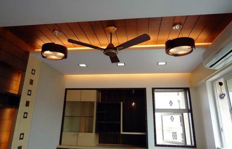 Μοντέρνος ανεμιστήρας οροφής
